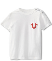 True Religion Kids - Boys' Puff Logo Snap Tee (Infant)