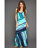 Calvin Klein - Bias Stripe Maxi Dress