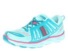 Brooks Kids - Pureflow 2 (Little Kid/Big Kid) (Aqua Splash/Tile Blue/Silver/Rose Violet/Black) - Footwear