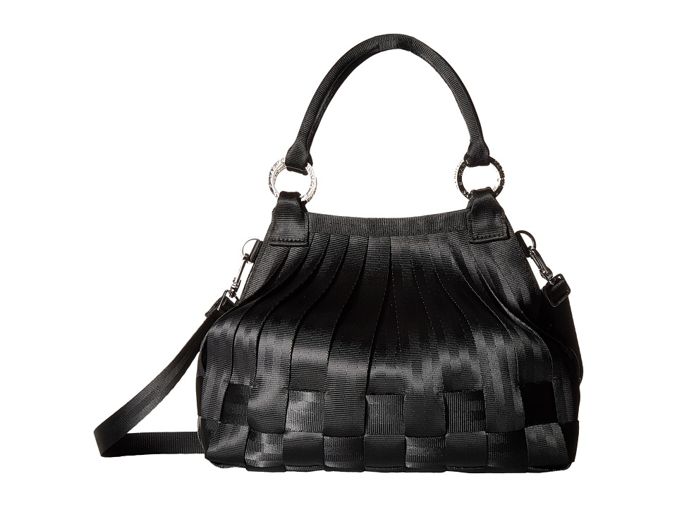 Harveys Seatbelt Bag - Stella Small Hobo (Black 2) Cross Body Handbags