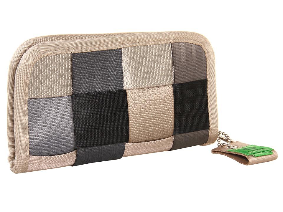 Harveys Seatbelt Bag - Classic Wallet (Grey) Wallet Handbags