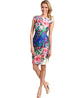 Suzi Chin for Maggy Boutique - Side Draped Sheath Dress