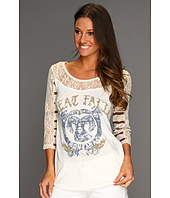 Free People - Love Me Long Sleeve Graphic Top