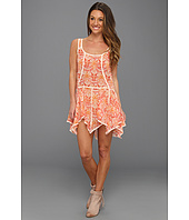 Free People - Check Chiffon Print Slip