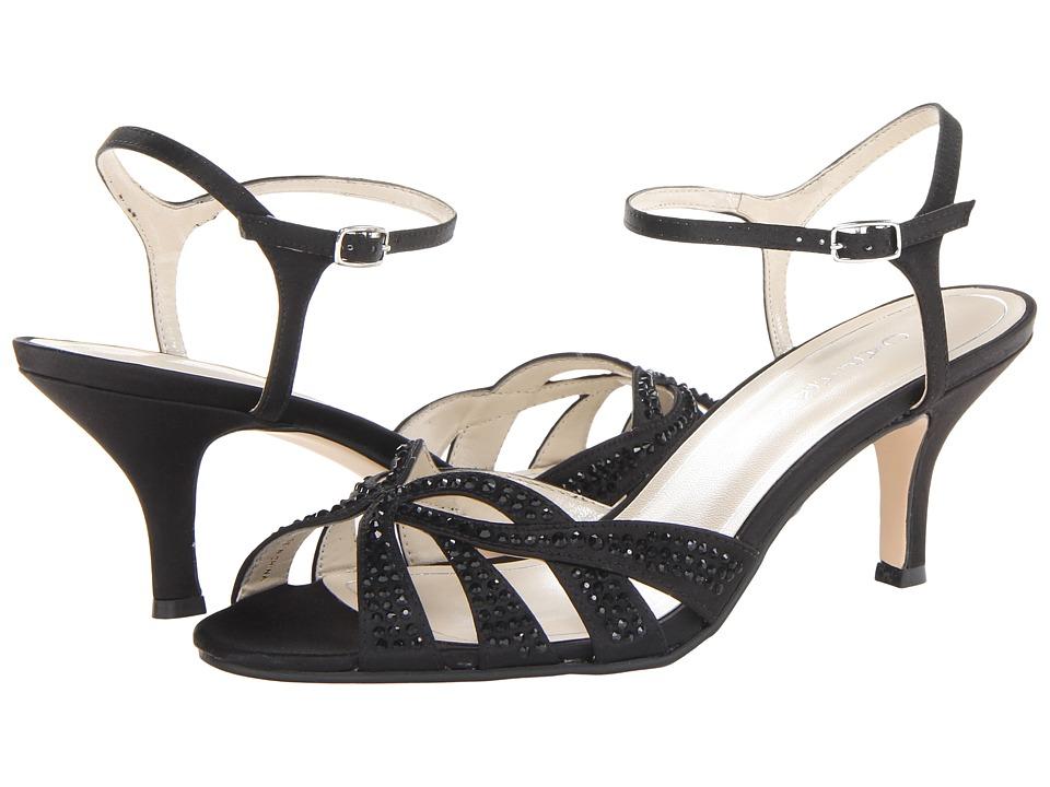 Caparros Heirloom (Black Sateen) High Heels
