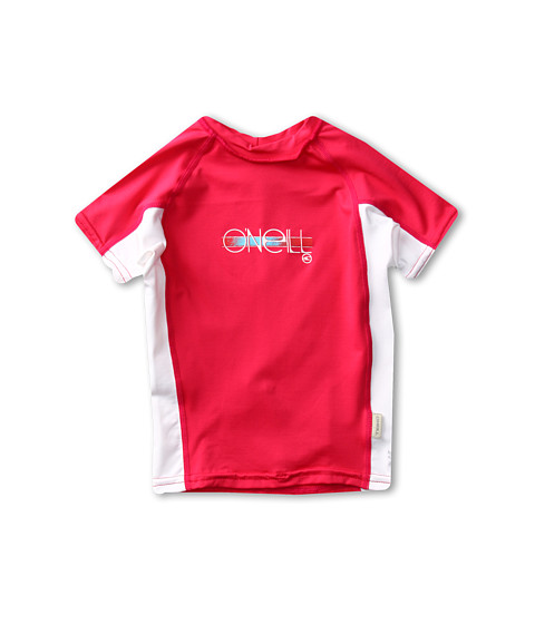 Shop O'Neill Kids - Girls Skins S, S Crew Little Kids, Big Kids Watermelon, White, Watermelon  and O'Neill Kids online - Girls, Clothing, Swimwear, Swimsuit Tops online Store