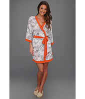P.J. Salvage - PJ Luxe Orange Pop Silk CDC Robe