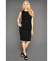 Calvin Klein - Sleeveless Career Peplum Dress
