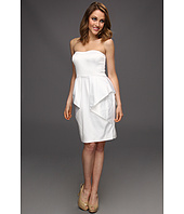 Jessica Simpson - Strapless Sweetheart Dress w/ Folded Peplum Skirt