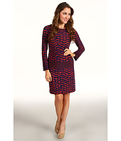 Donna Morgan - Kenzie Drop Torso Print Dress
