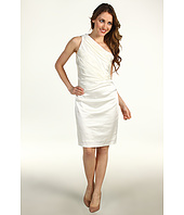 Suzi Chin for Maggy Boutique - One Shoulder Rouched Bodice Sheath
