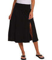 Allen Allen - Mid-Length Paneled Skirt