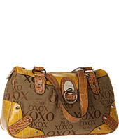 XOXO - Unforgettable Jacquard Satchel