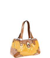XOXO - Unforgettable Vinyl Croco Satchel