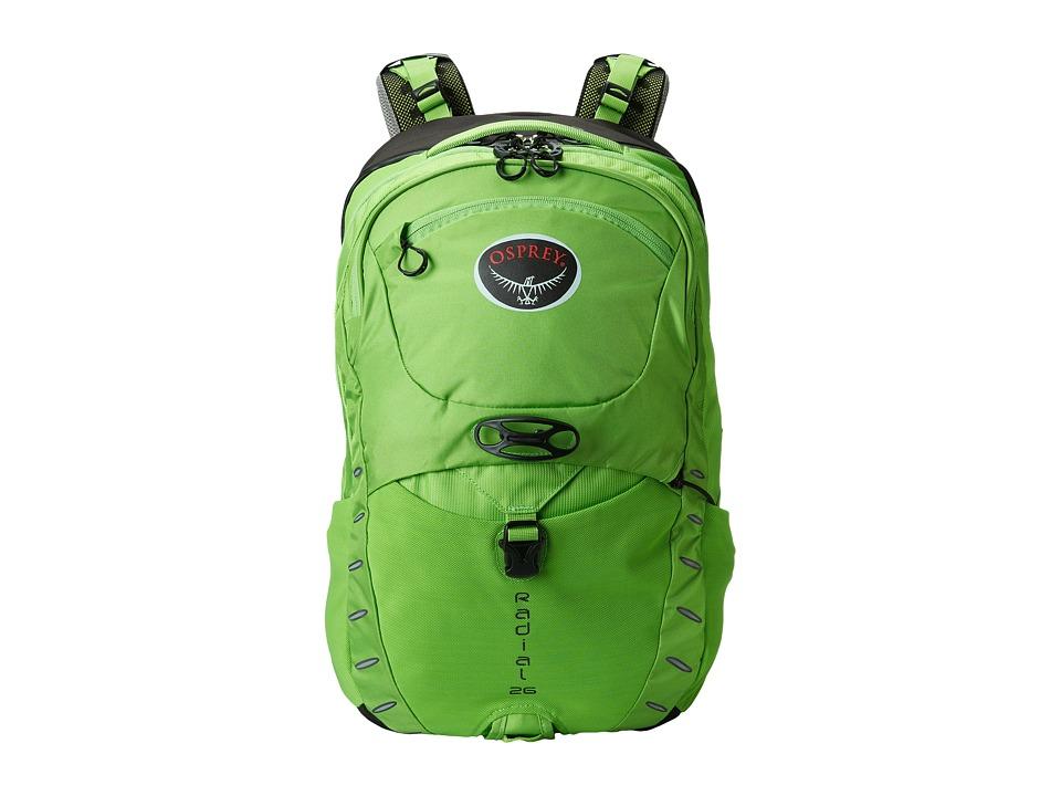 Osprey Radial 26 Mantis Green Backpack Bags