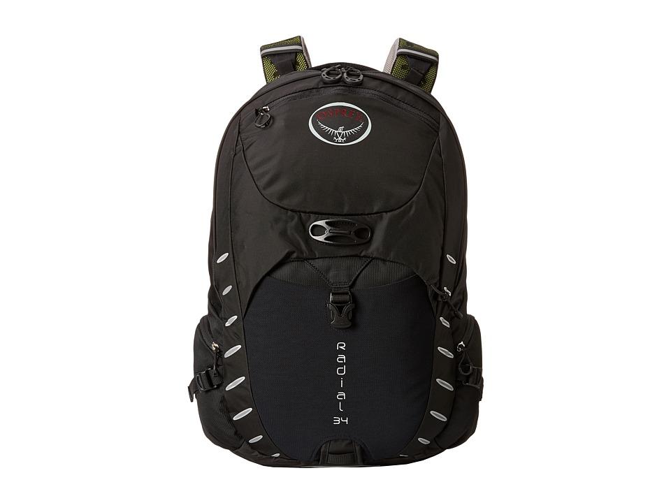 Osprey Radial 34 Black Backpack Bags
