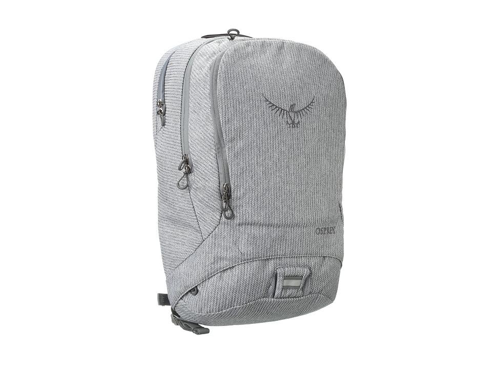 Osprey Cyber Gray Herringbone Backpack Bags