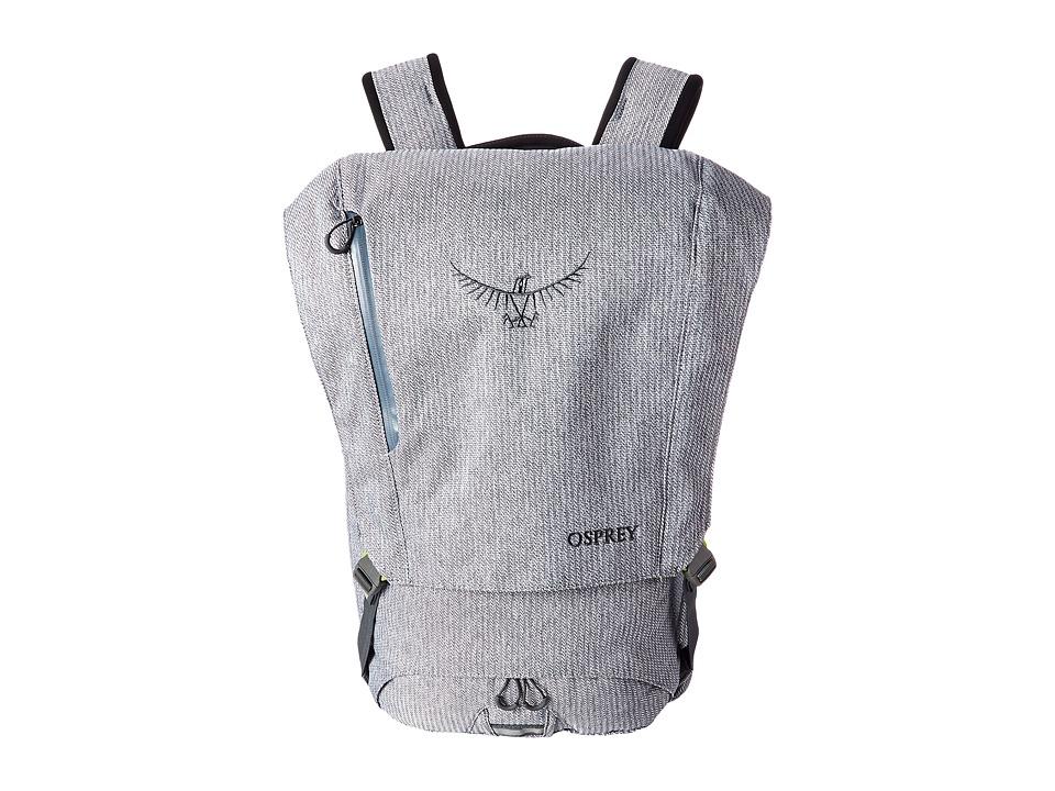Osprey Pixel Gray Herringbone Backpack Bags