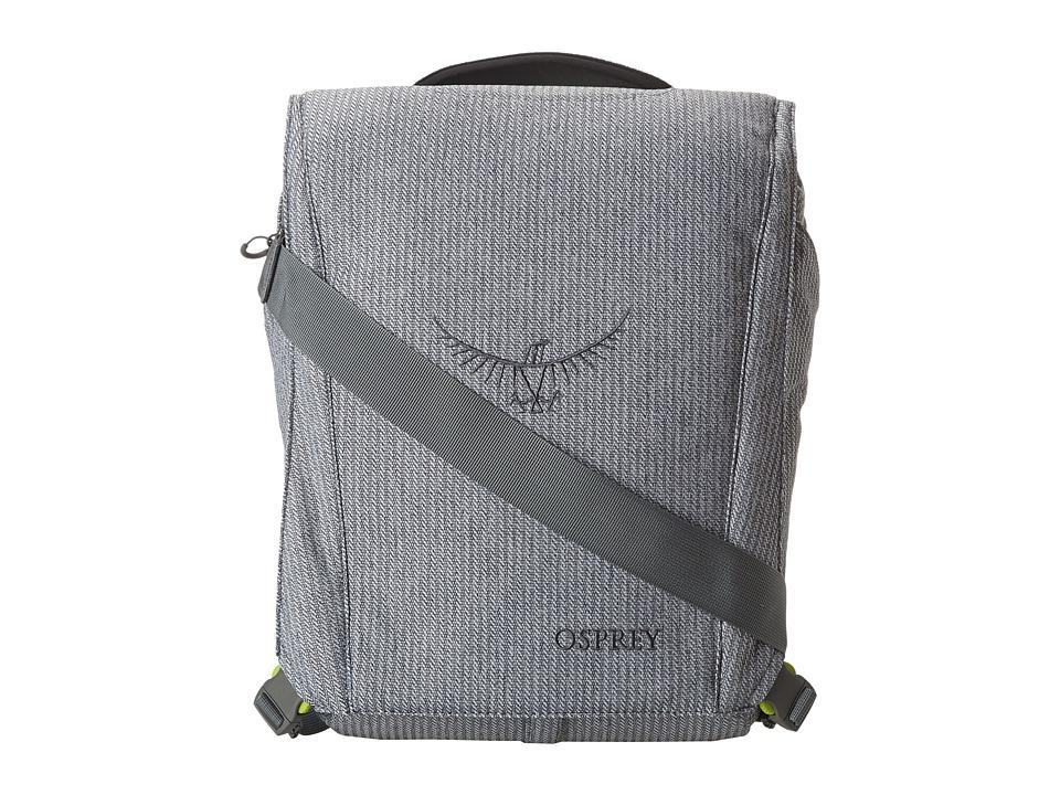 Osprey Nano Port Pack Gray Herringbone Backpack Bags
