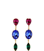Ayana Designs - Three Crystal Earrings