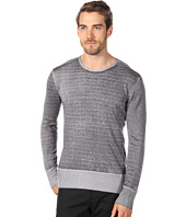John Varvatos Collection - Reverse Printed Silk Cashmere Pullover