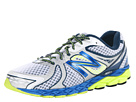 New Balance M870v3 White, Blue, Yellow Shoes
