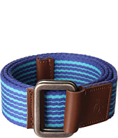 Original Penguin - Striped Webbed Belt
