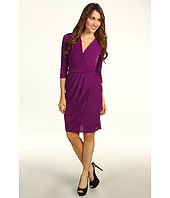 BCBGMAXAZRIA - Jenesis One Side Pleated Jersey Dress