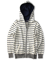 Toobydoo - Stripe Hooded Zip Sweater (Toddler/Little Kids/Big Kids)