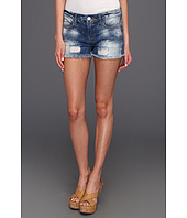 Blank NYC - The Little Queenie Destructed Denim Short in Rimmin