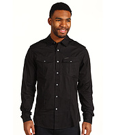 Marc Ecko Cut & Sew - Solid Poplin Military L/S Shirt
