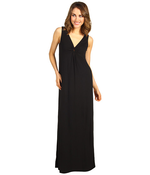 Tommy Bahama - Tambour Long Ring Dress (Black) - Apparel