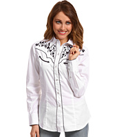 Roper - Old West Collection Vine Embroidered Blouse