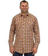 Roper - Brown & Tan Basic Western Plaid with Lurex