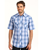 Roper - Baby Blue Basic Western Plaid
