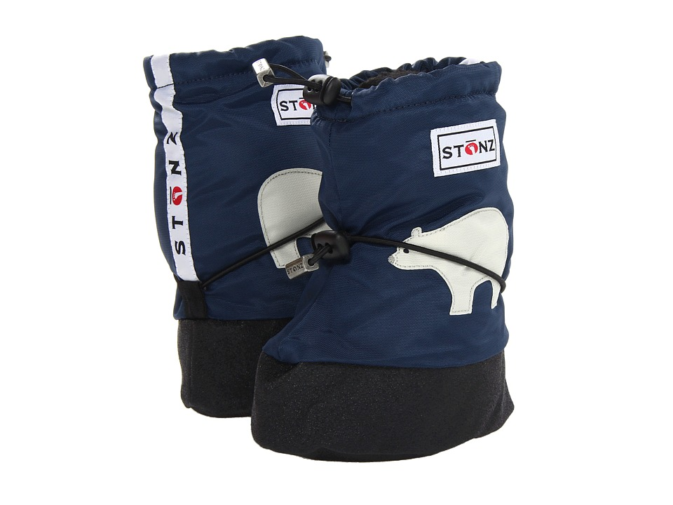 Stonz Baby Booties (Toddler) (Polar Bear/Navy Blue) Boy
