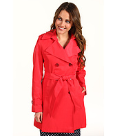 DKNY - Double Breast Flounce Trench