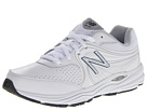 New Balance MW840 White, Blue Shoes