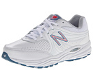 New Balance WW840 White, Pink Shoes