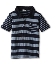Splendid Littles - Chambray Stripe Polo (Little Kids)