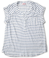 Splendid Littles - Marseille Chambray Stripe Henley Top (Big Kids)