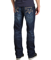 Mek Denim - Chicago Straight M Logo in Dark Blue