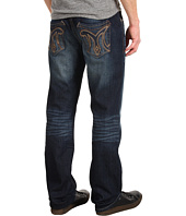 Mek Denim - Cypress Straight Classic Pocket M Logo in Dark Blue
