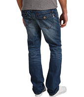 Mek Denim - New York Straight Button Flap in Medium Blue