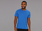 adidas - Ultimate Short Sleeve Tee (Blue Beauty/Dark Shale)