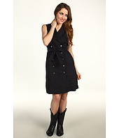 Stetson - Sleeveless Dress with Military Influence