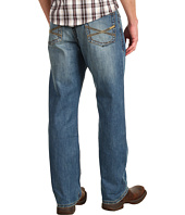 Stetson - Stetson 1520 Fit, Medium Wash, Back Knee Tacking
