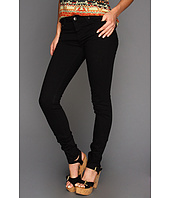Big Star - Alex Mid Rise Skinny Jean in Black