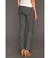 Big Star - Alex Mid Rise Skinny Jean in Engineered Stripe