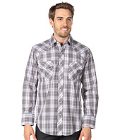 Roper - Black & Grey Basic Plaid with Lurex
